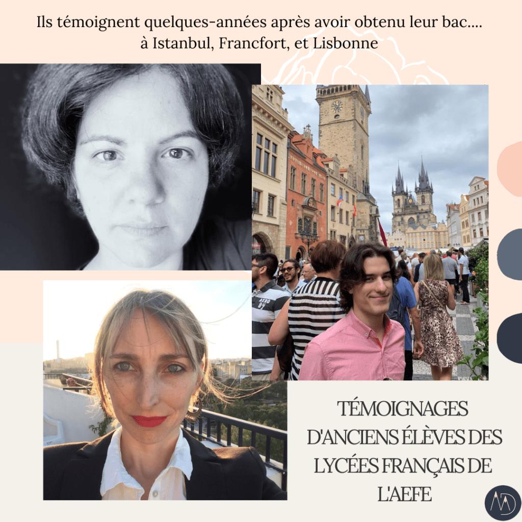 Témoignages d'anciens des lycées français de l'AEFE : qu'êtes-vous devenus ? (épisode 1)